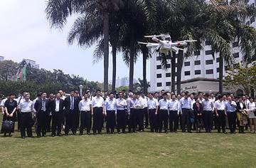 AEE一电科技作为唯一受邀民营无人机企业出席全国通用航空产业发展研讨会