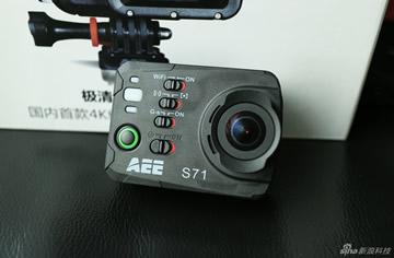 4K运动摄像机AEE S71功能评测 [ 新浪科技]