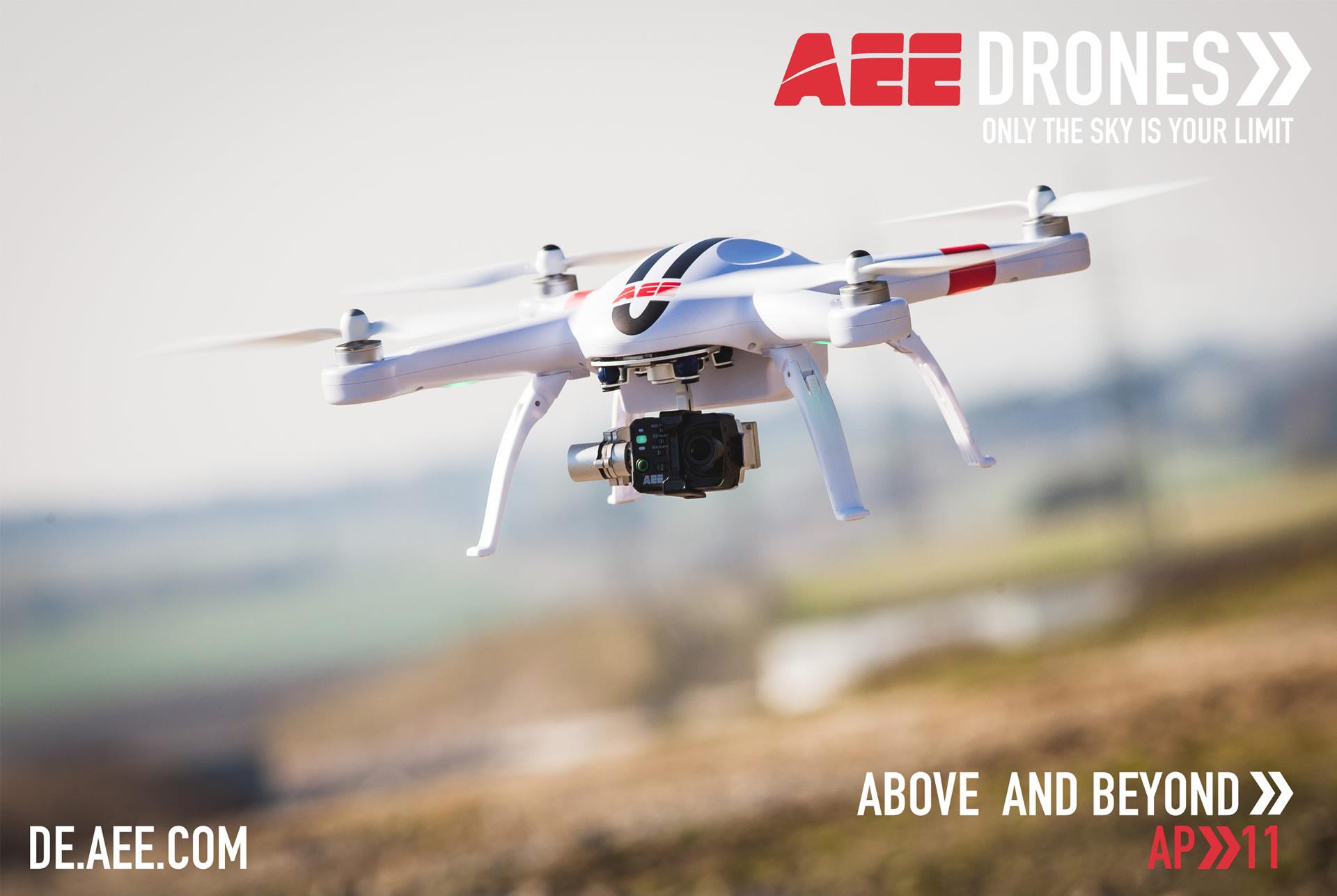 AP11产品图-AEE航拍无人机海外应用