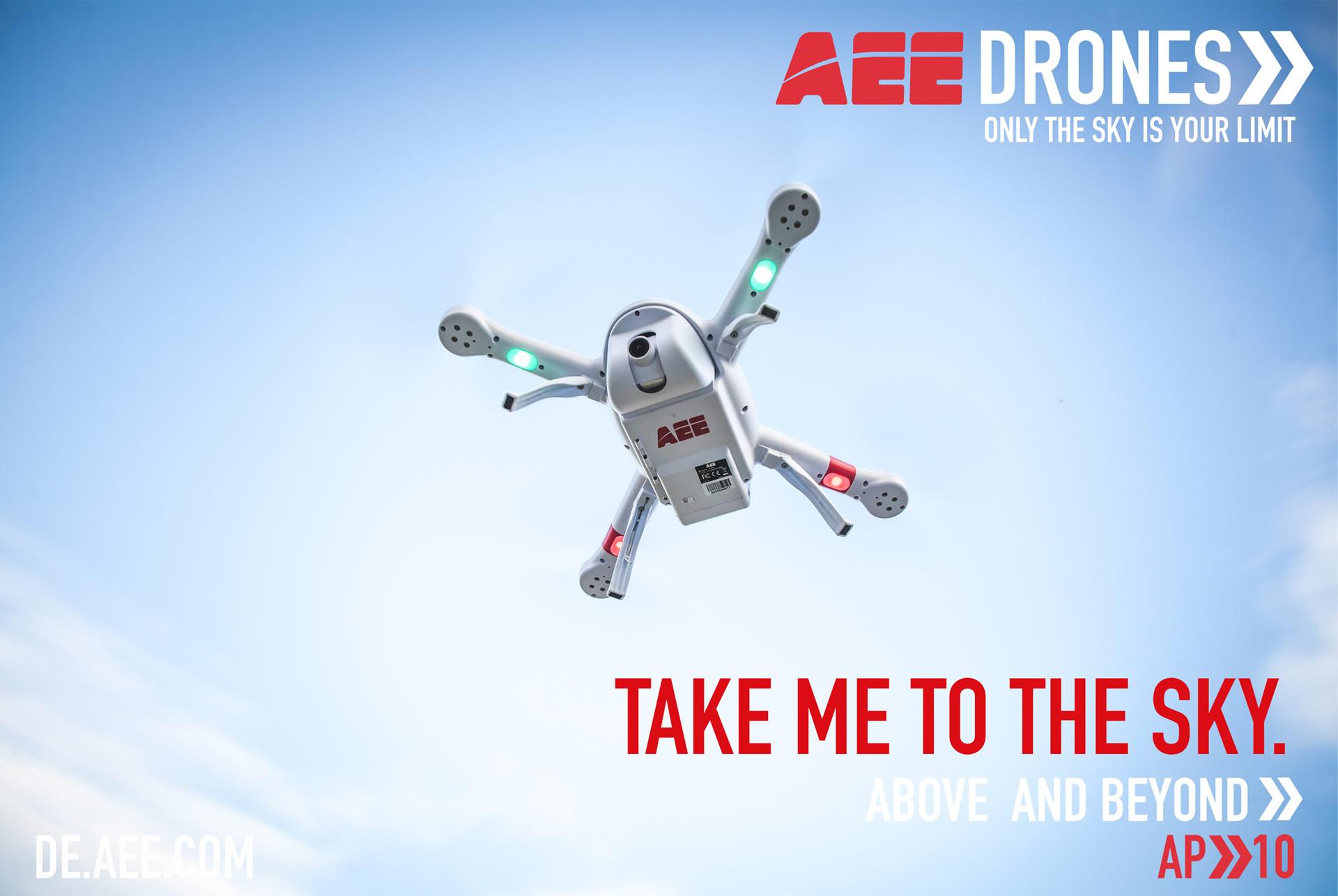 Ap10产品图-AEE航拍无人机海外应用