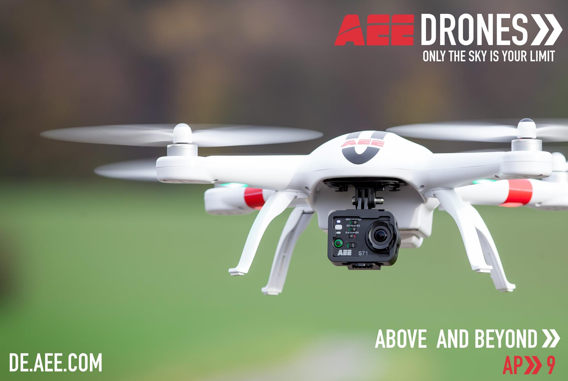 Ap9产品图-AEE航拍无人机海外应用
