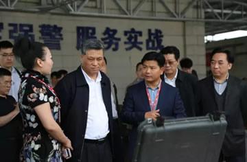 深圳市委书记马兴瑞调研装备级无人机企业AEE一电科技