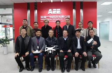 万科集团董事会主席王石一行考察调研AEE一电科技